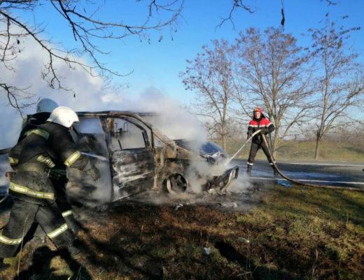 згорів автобус
